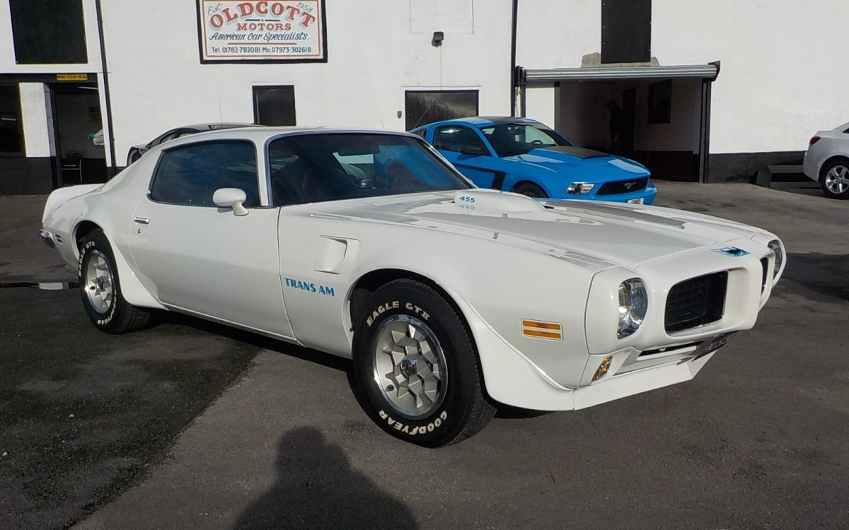 1973 PONTIAC TRANS AM 455 AUTO 55,000 MILES