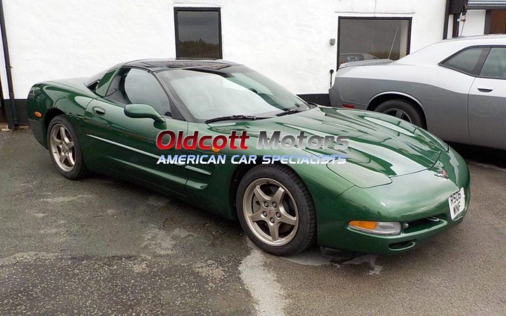 1997 Chevrolet Corvette C5 Green0715 E1470647255230 Oldcott Motors