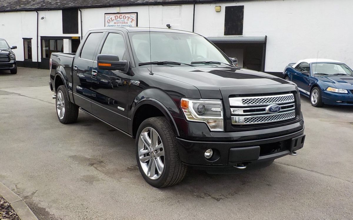 2013 FORD F150 KING RANCH 4 DOOR CAB PICK UP