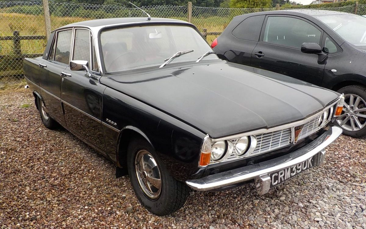 1971 ROVER 2000 SC AUTO 2.0 LITRE AUTO 53,000 MILES, GOOD CONDITION