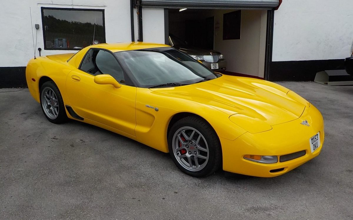 2003 CHEVROLET CORVETTE C5 Z06 5.7 LITRE MANUAL