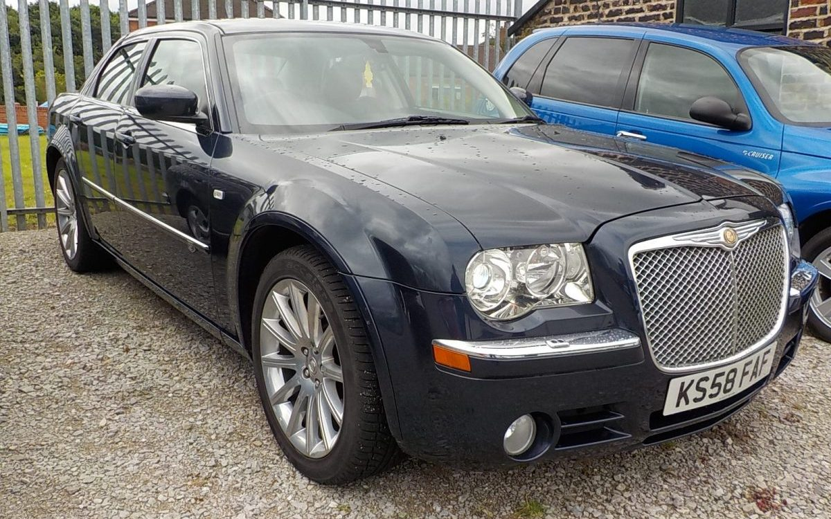 2003 CHRYLSER 300C SRT DESIGN AUTO 3.0 LITRE DIESEL WITH FSH