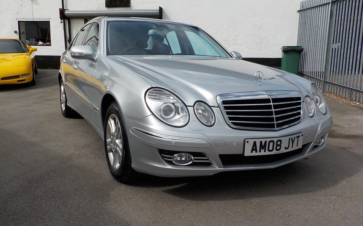 2008 MERCEDES E220 CDI AVANTGARDE DIESEL AUTIMATIC 63,000 MILES WITH FSH