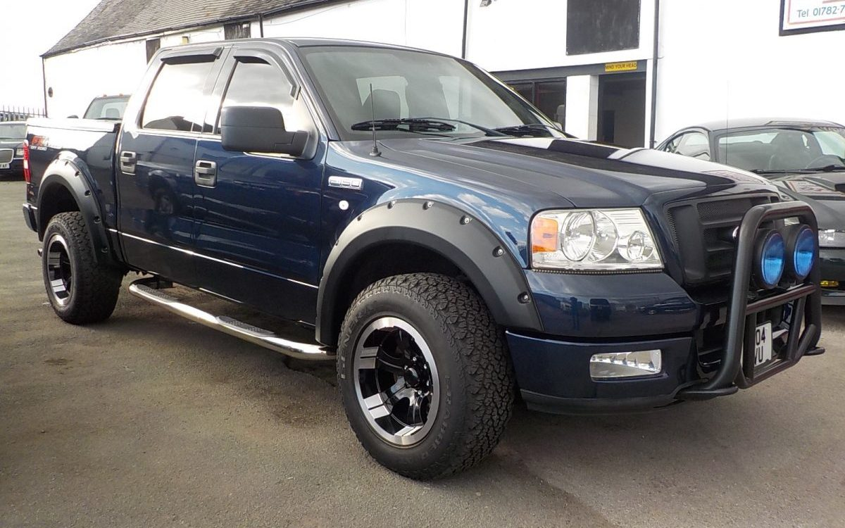 2004 ford f150 fx4 4x4 off road edition pickup oldcott motors. Black Bedroom Furniture Sets. Home Design Ideas
