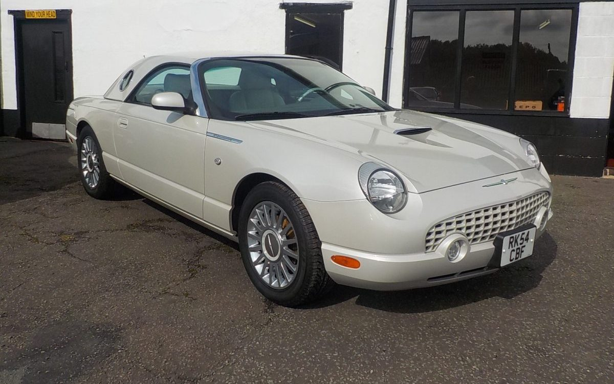 2005 FORD THUNDERBIRD 4.0 AUTO CONVERTIBLE