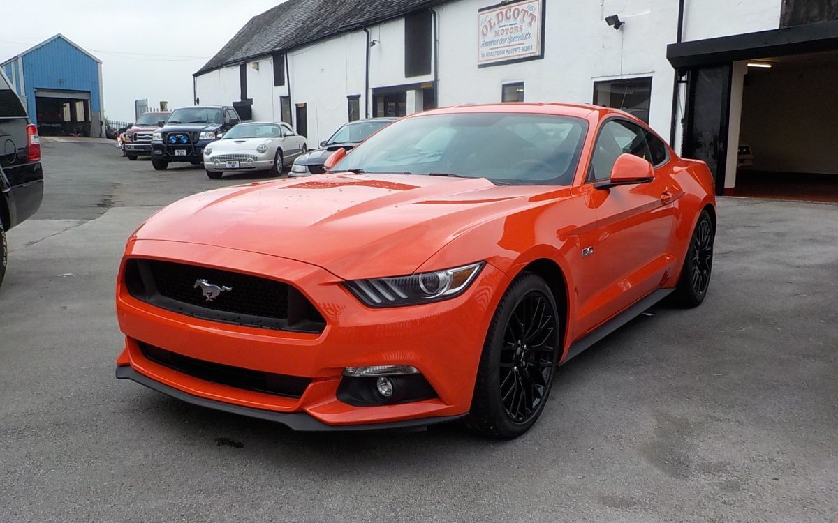 2015 FORD MUSTANG 5.0 GT 6 SPEED MANUAL LHD
