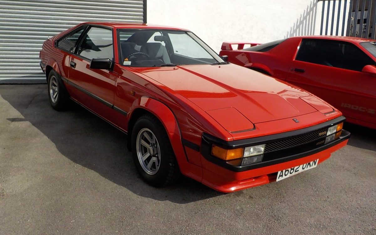 1984 TOYOTA SUPRA 2.8 LITRE MANUAL