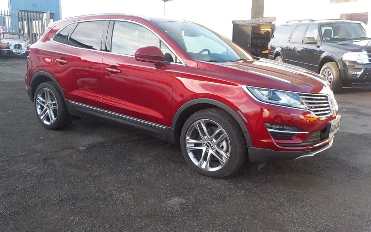 2016 LINCOLN MKC AWD RESERVE 2.0 LITRE ECO BOOST