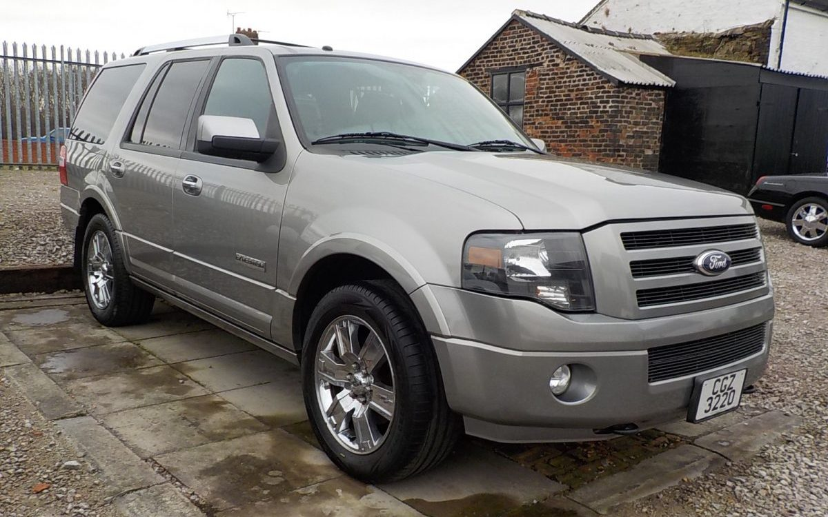 2008 FORD EXPEDITION LIMITED 5.4 V8 AUTO 4X4 87,000 MILES