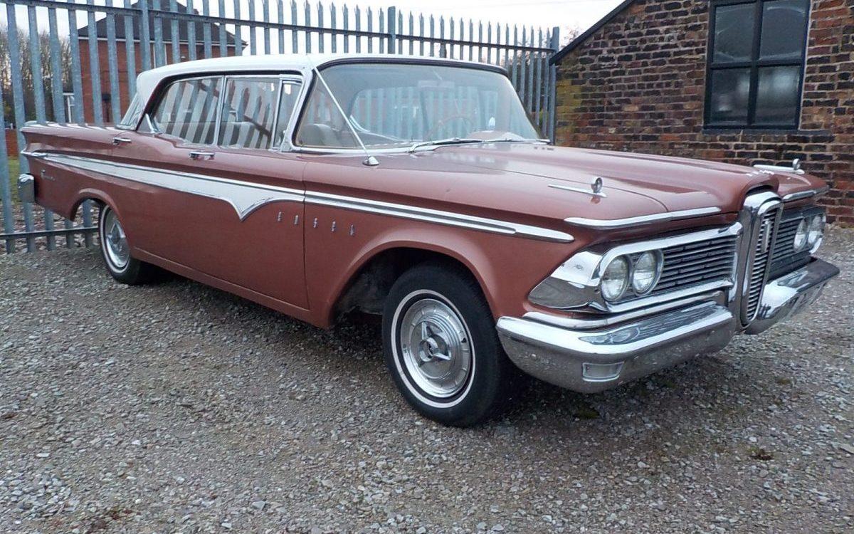 1959 EDSEL RANGER 5.9 LITRE AUTOMATIC 59,000 MILES