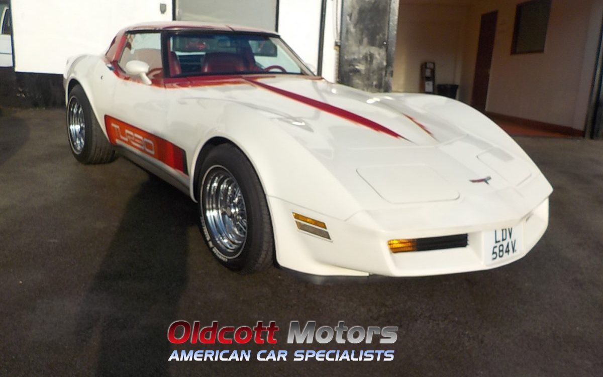 1981 CHEVROLET CORVETTE C3 5.7 LITRE TURBO AUTOMATIC 20,000 MILES