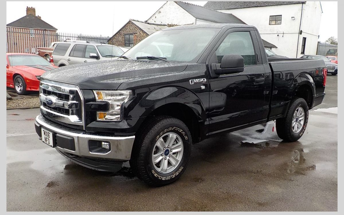 2016 FORD F150 XLT REGULAR CAB 4X4 3.5 LITRE V6