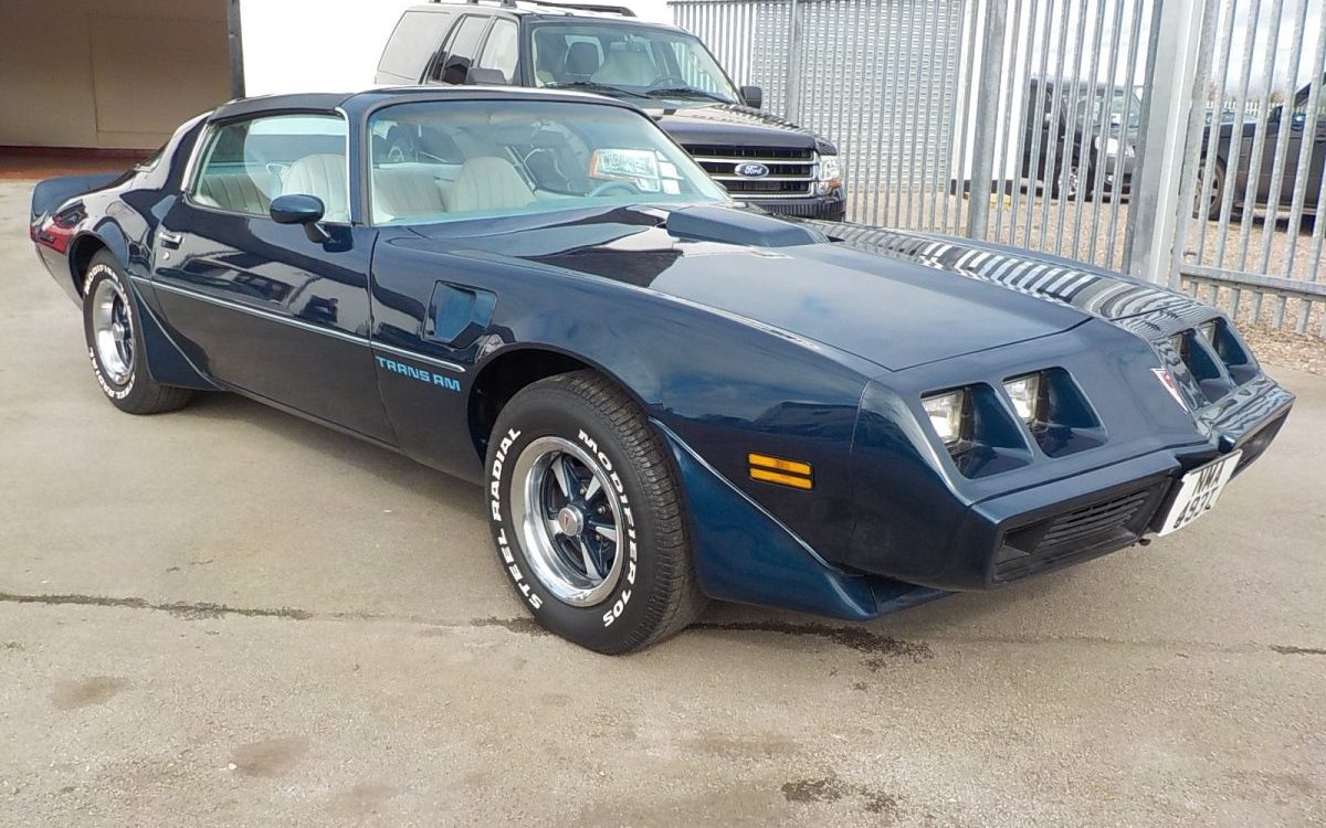 1979 PONTIAC TRANSAM 4 SPEED MANUAL