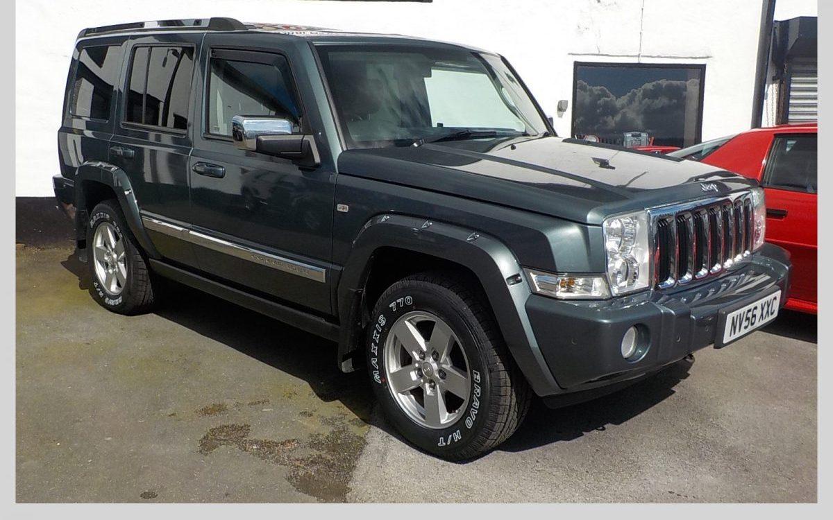 2006 jeep commander 5 7 litre hemi auto 4x4 auto oldcott motors. Black Bedroom Furniture Sets. Home Design Ideas
