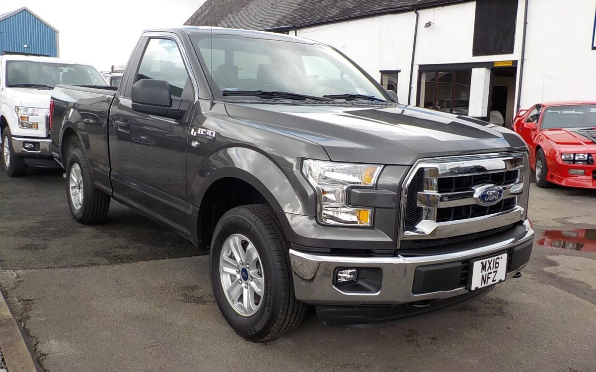 2016 FORD F150 3.5 LITRE V6 REGULAR CAB 2WD SHORT BED