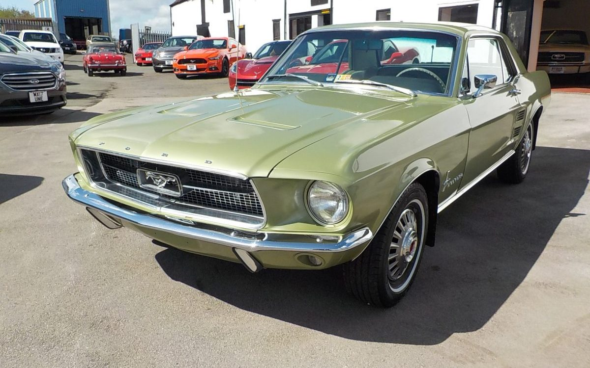 1967 ford mustang coupe 289 automatic