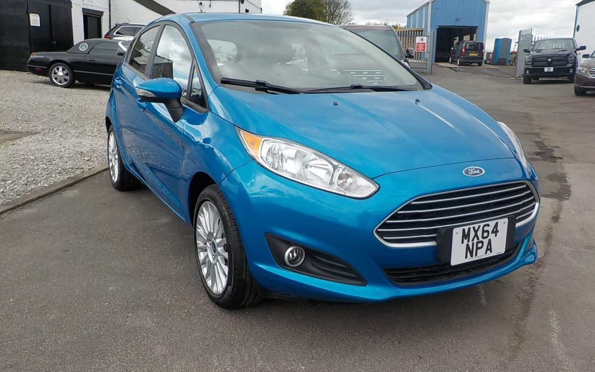 2015 NEARLY NEW FORD FIESTA LHD USA SPECIFICATION