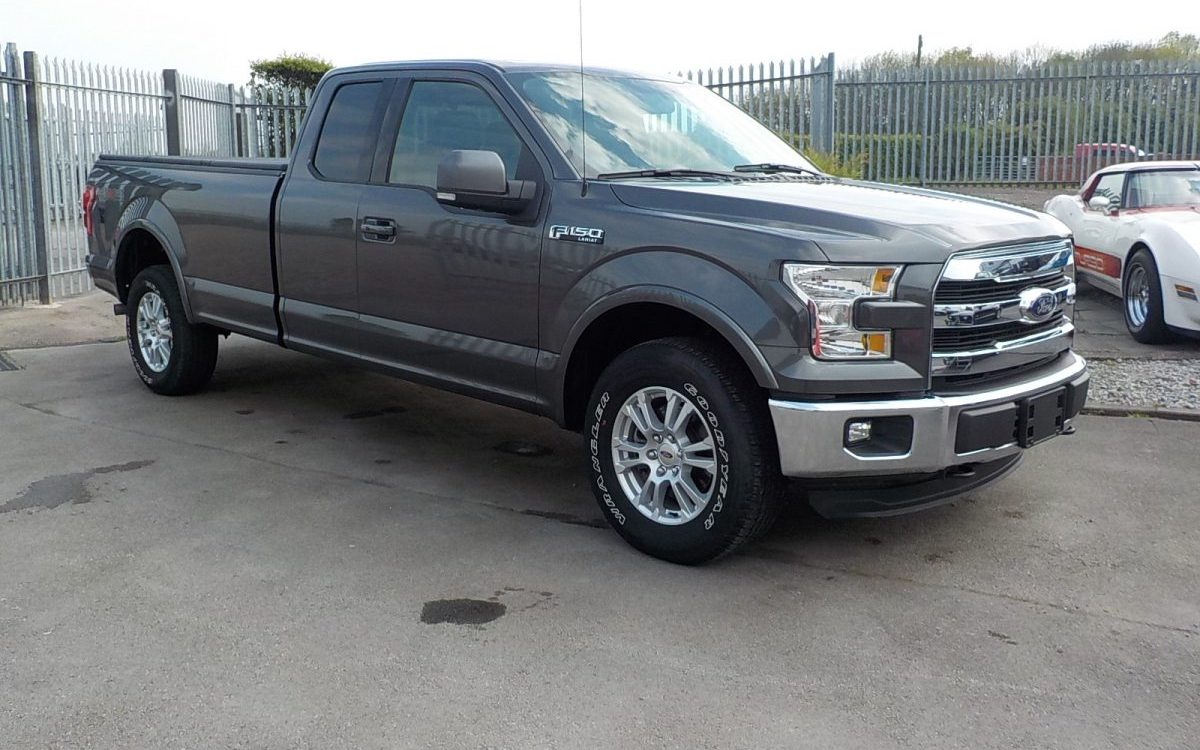 2015 FORD F150 LARIAT 5.0 LITRE 4X4 SUPERCAB 8 FT BED
