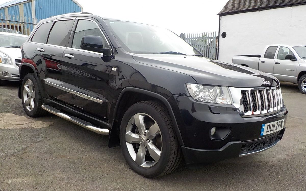 2011 JEEP GRAND CHEROKEE OVERLAND 3.0 LITRE DIESEL