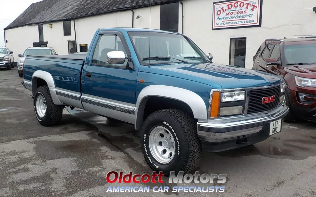 1992 GMC SIERRA 1500 REGULAR CAB LONG BED 5.7 LITRE PICKUP