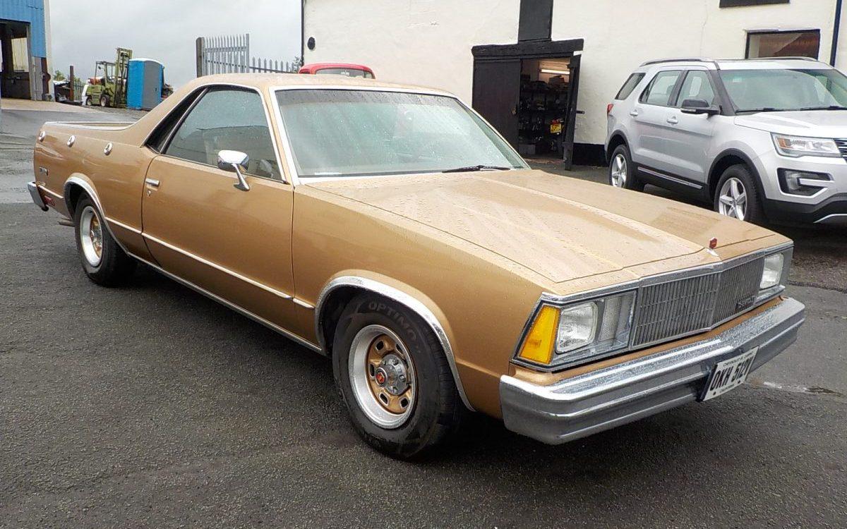 1980 CHEVROLET ELCAMINO 3.8 LITRE V6