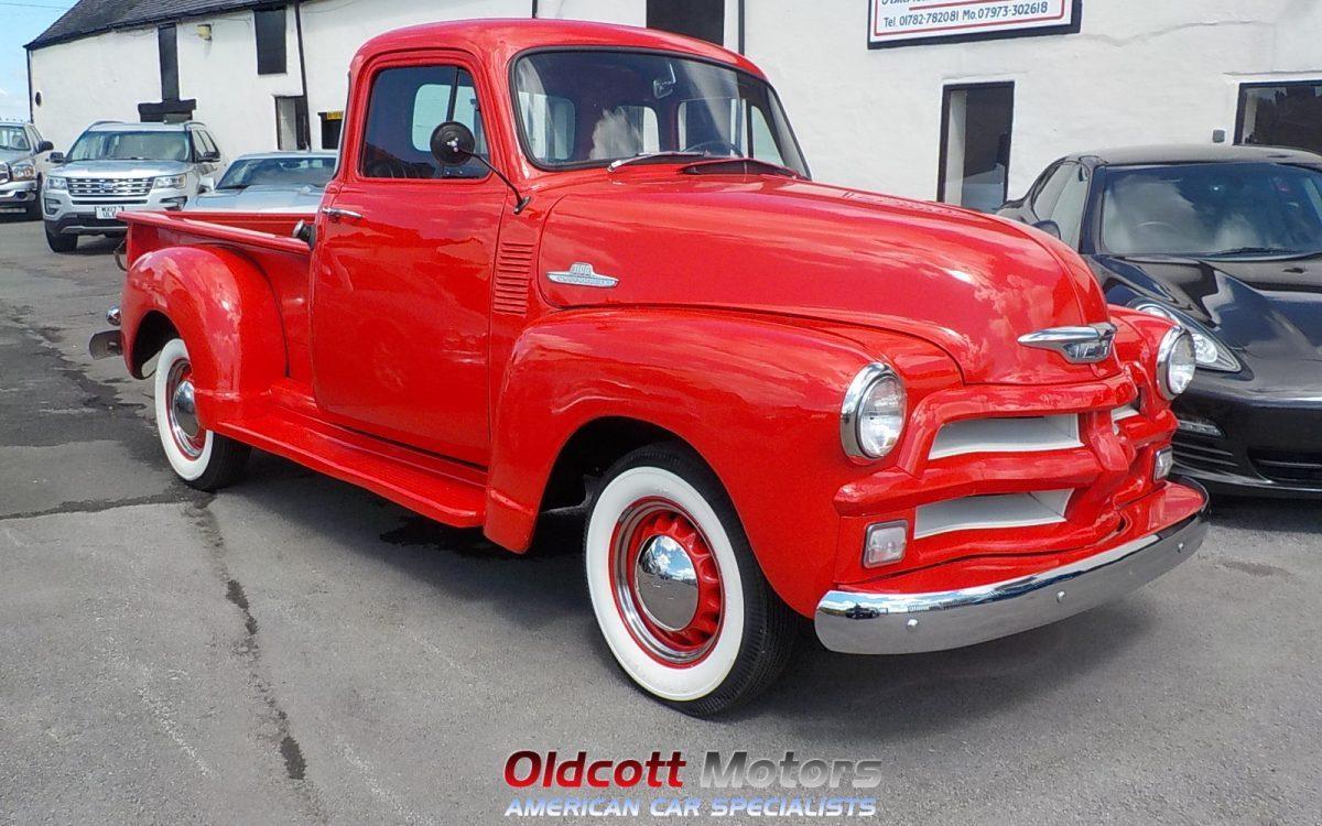 1954 Chevrolet 3100 Step Side Pickup Oldcott Motors