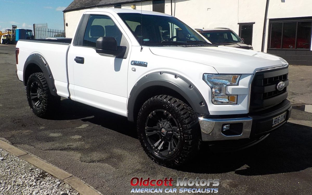 2016 F150 Regular Cab >> 2016 FORD F150 REGULAR CAB 3.5 LITRE V6 2WD XLT PICKUP 1200 MILES | Oldcott Motors