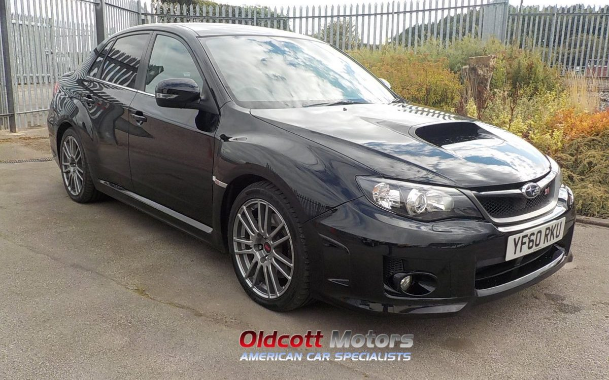 2011 SUBARU WRX UK SYM-CAL AED 2.5 LITRE MANUAL