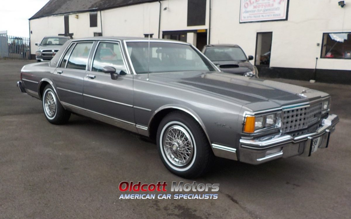 1985 chevrolet caprice classic 5 o litre v8 auto 23 000 for Charity motors auction 8 mile