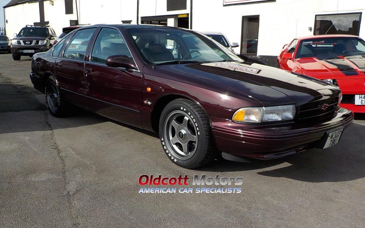 1995 CHEVROLET IMPALA SS 5.7 LITRE LT1 AUTO