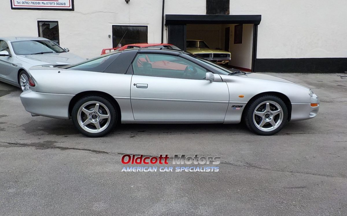 1998 CHEVROLET CAMARO Z28 5.7 LITRE LS1 AUTO EURO SPEC