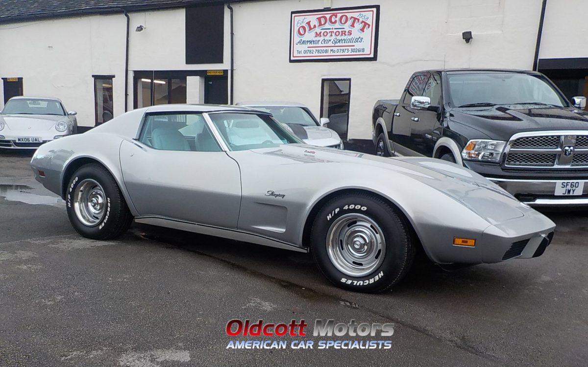 1976 chevrolet corvette stingray 5 7 litre 12 000 miles oldcott motors. Black Bedroom Furniture Sets. Home Design Ideas