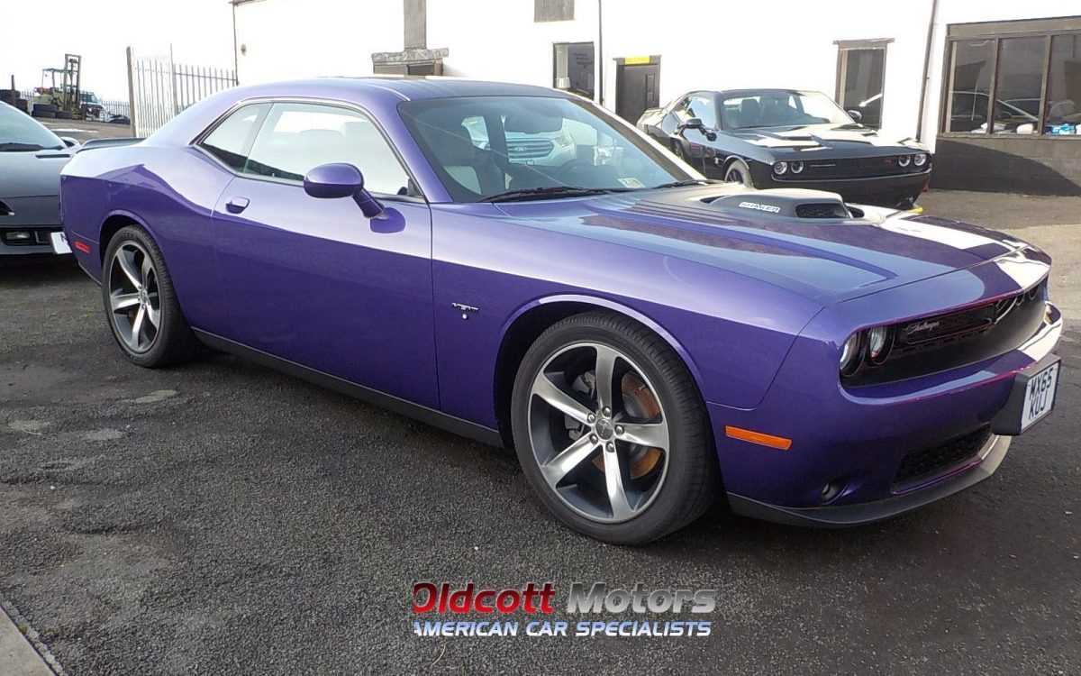2016 DODGE CHALLENGER 5.7 LITRE RT SHAKER 8 SPEED AUTO