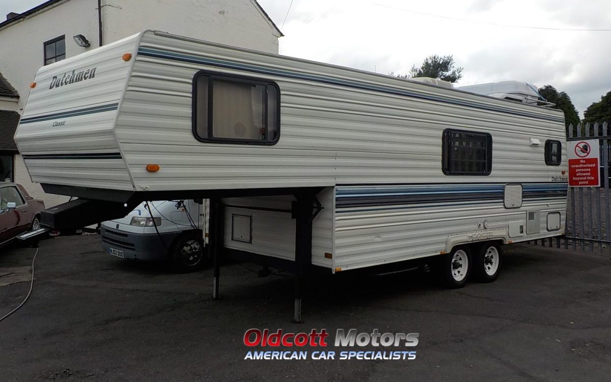 1992 DUTCHMAN 260 5TH WHEEL CAMPER