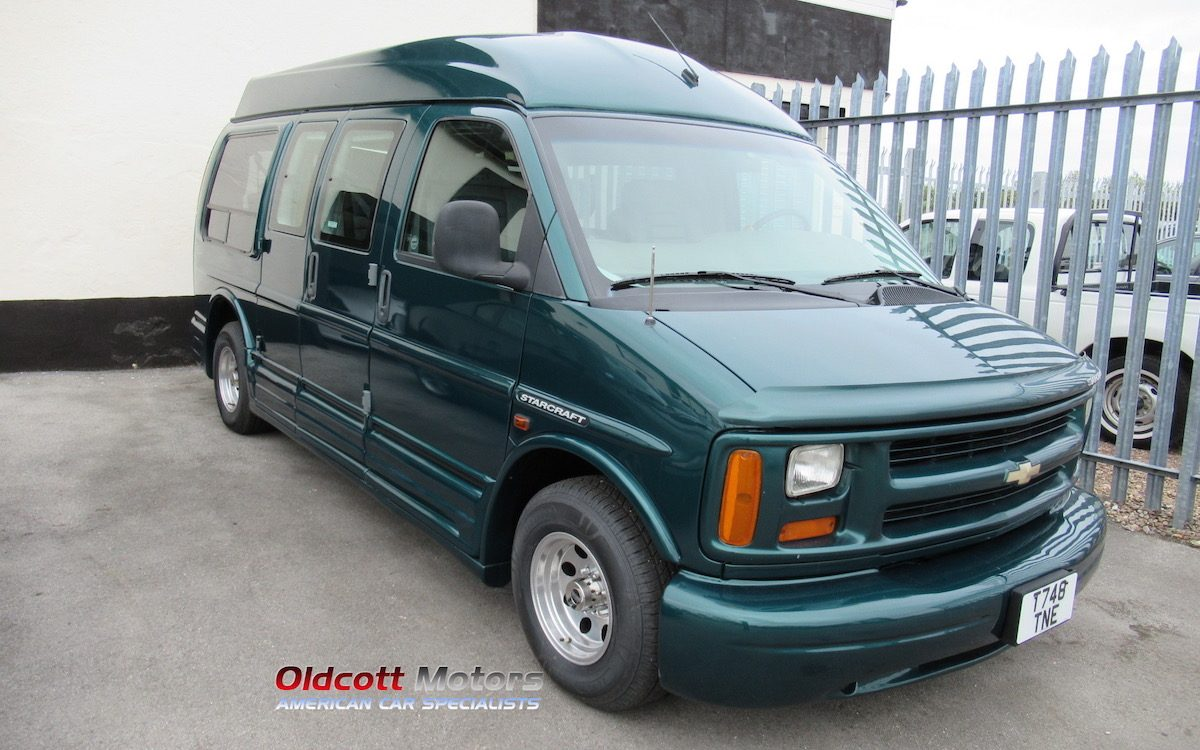 1999 CHEVROLET STARCRAFT DAY VAN 5.7 LITRE AUTO