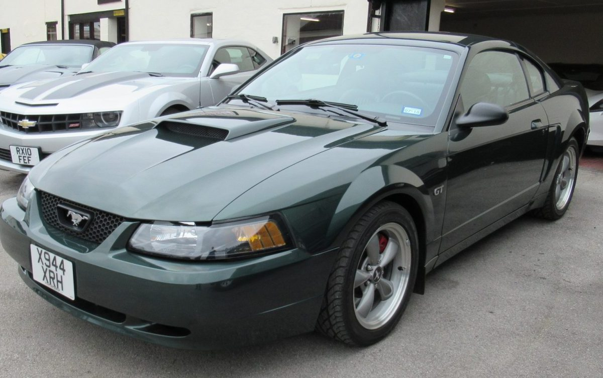 2001 FORD MUSTANG BULLET 4.6 LITRE 5 SPEED MANUAL