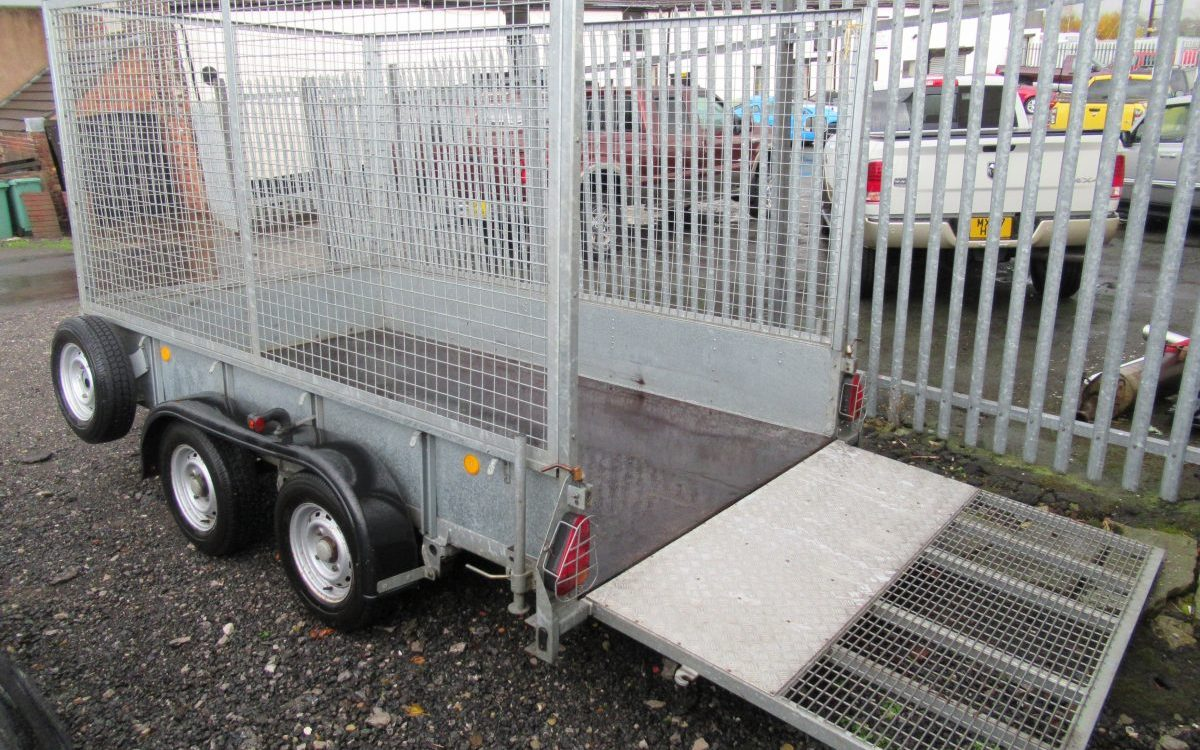 IFOR WILLIAMS GD105 TRAILER 12X5 2700 KG GROSS