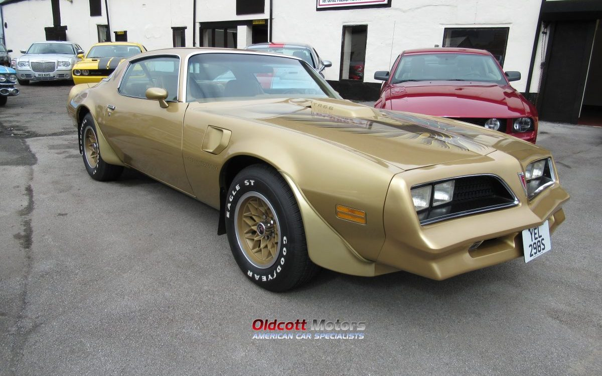 1978 PONTIAC TRANS AM 6.6 LITRE 4 SPEED MANUAL