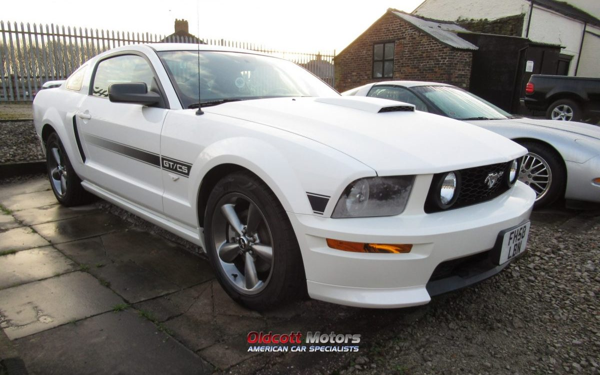 2009 FORD MUSTANG CALIFORNIA SPECIAL 4.6 LITRE GT