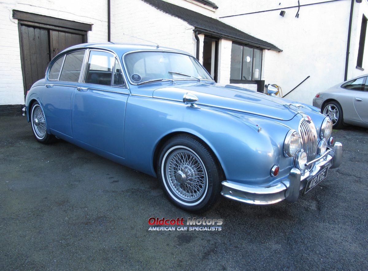 1962 JAGUAR MK2 3.4 LITRE AUTO
