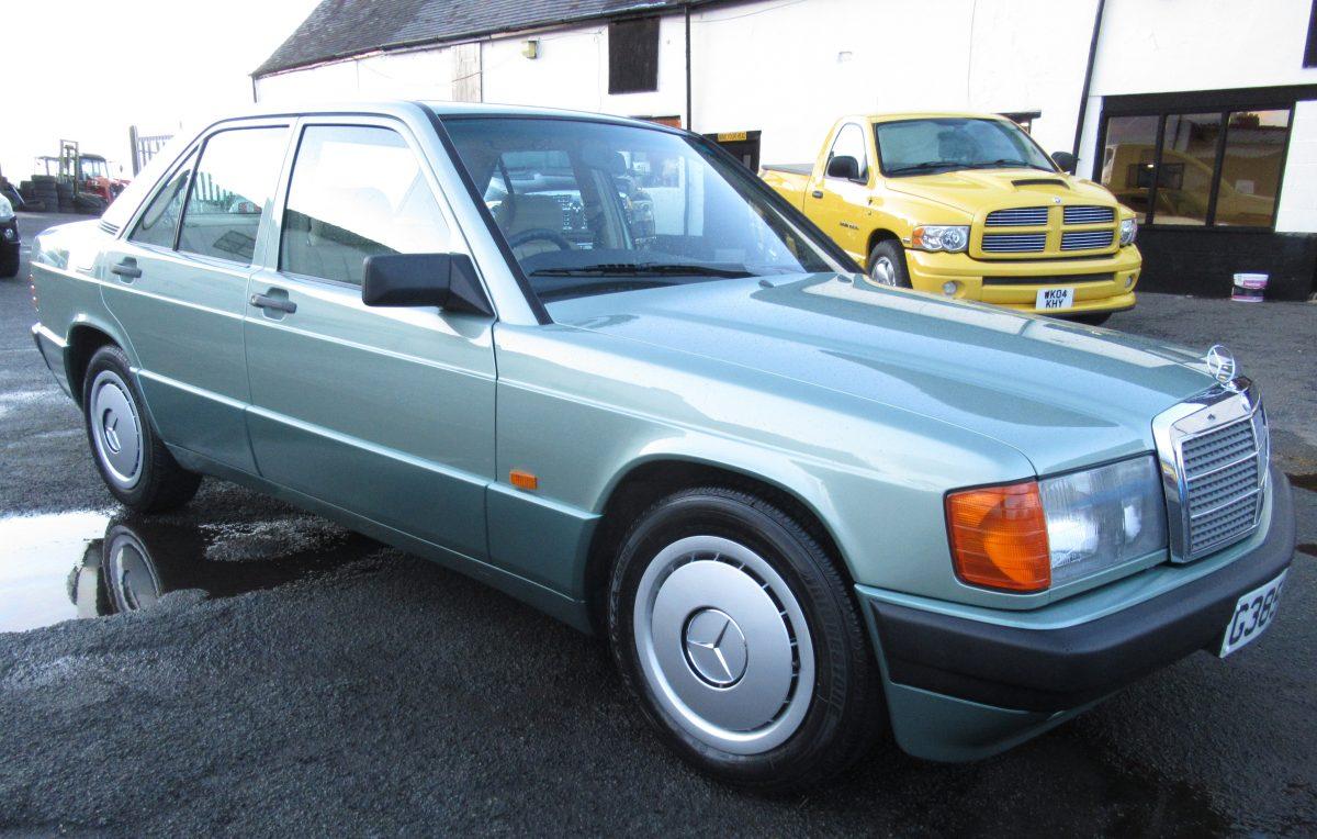 1989 MERCEDES 190E AUTOMATIC 2.0 LITRE PETROL