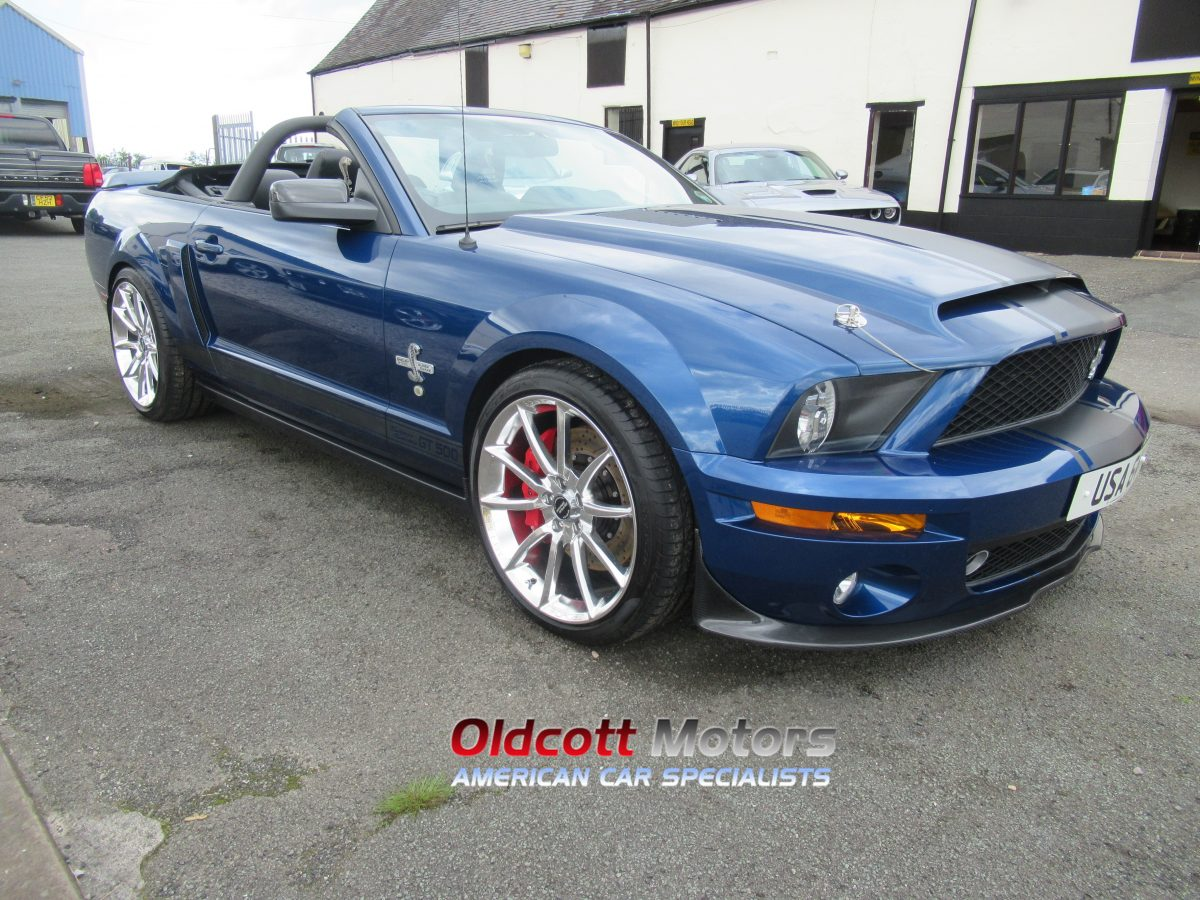 2009 FORD MUSTANG GT500 SUPER SNAKE 5.4 LITRE SUPERCHARGED