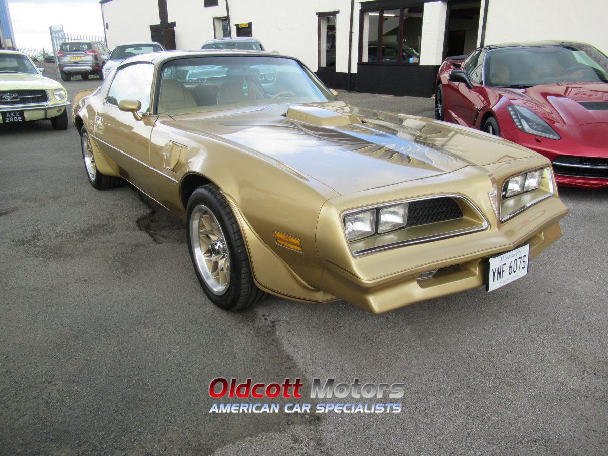 1978 PONTIAC TRANSAM AUTOMATIC Y88 GOLD EDITION