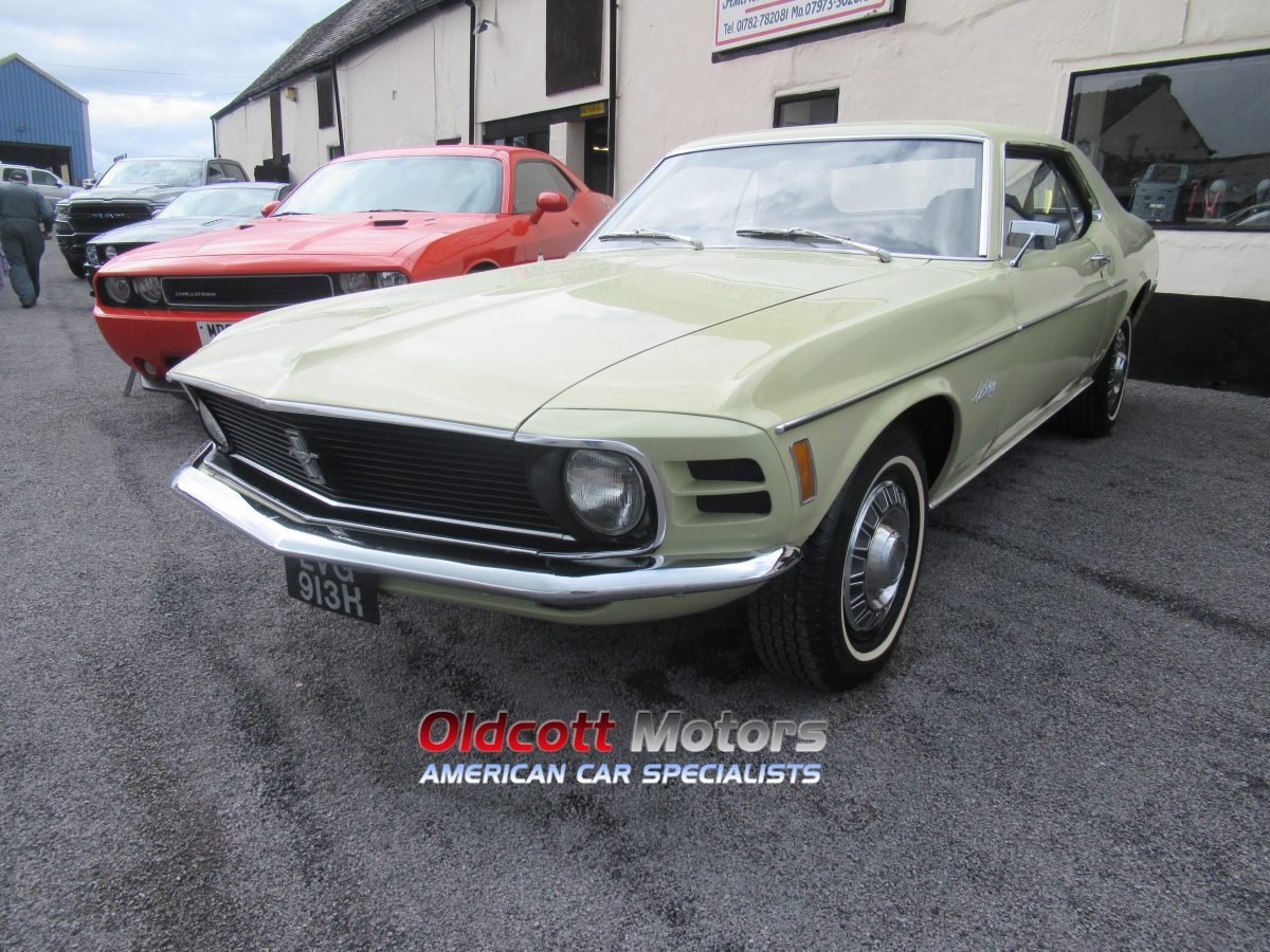 1970 FORD MUSTANG COUPE 5.0 LITRE AUTO