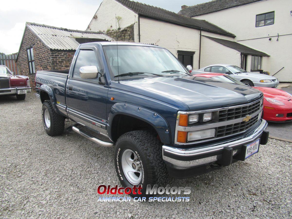1993 CHEVROLET K1500 REGULAR CAB 4X4 AUTO SHORT BED PICKUP