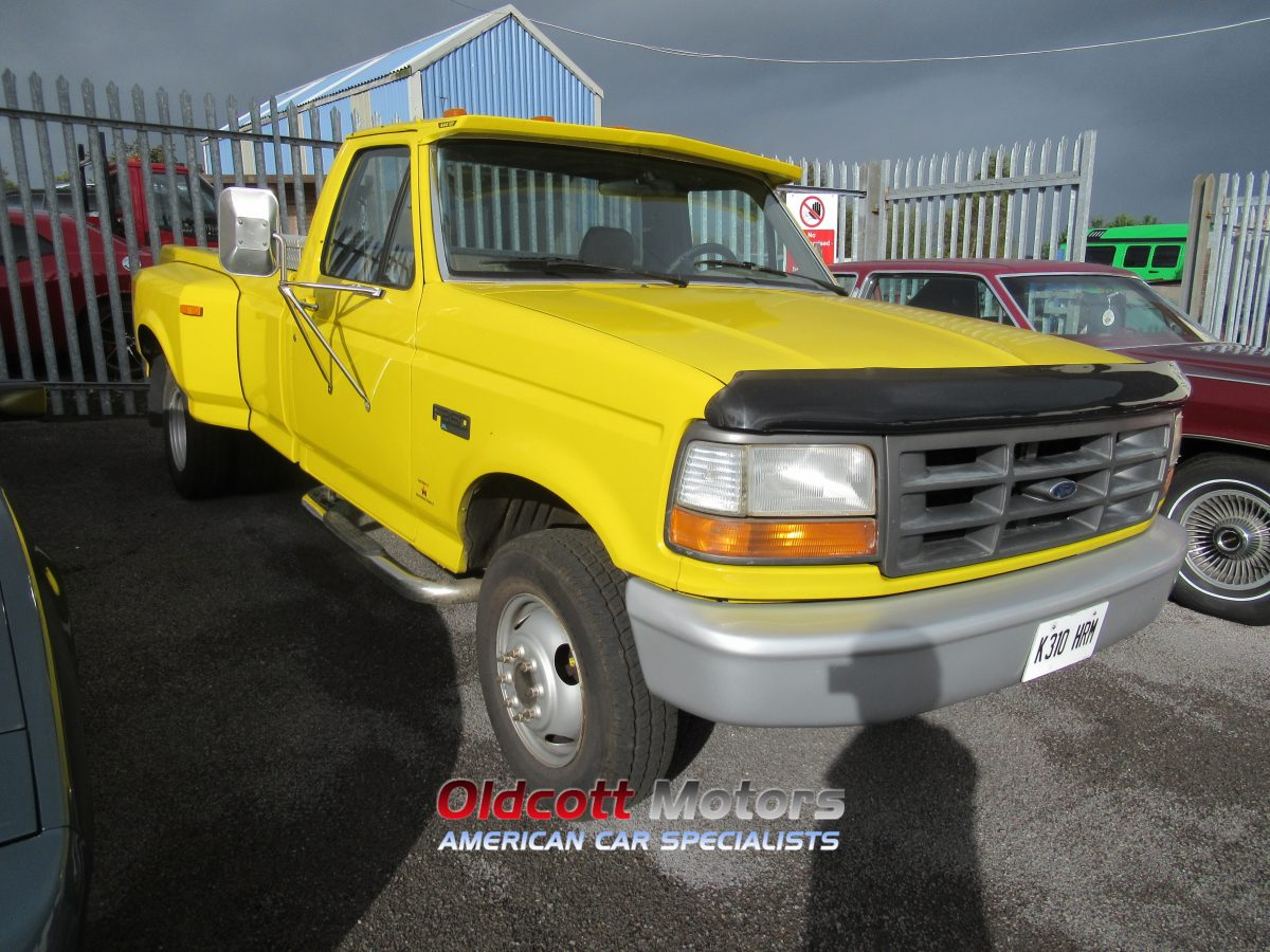 1993 FORD F350 DUALLY 7.3 LITRE INTERNATIONAL AUTO