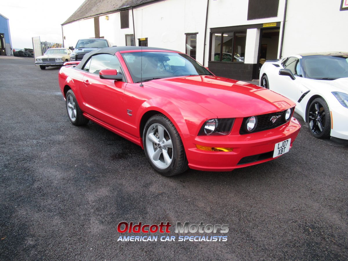 2007 FORD  MUSTANG 4.6 LITRE GT AUTO PREMIUM CONVERTIBLE
