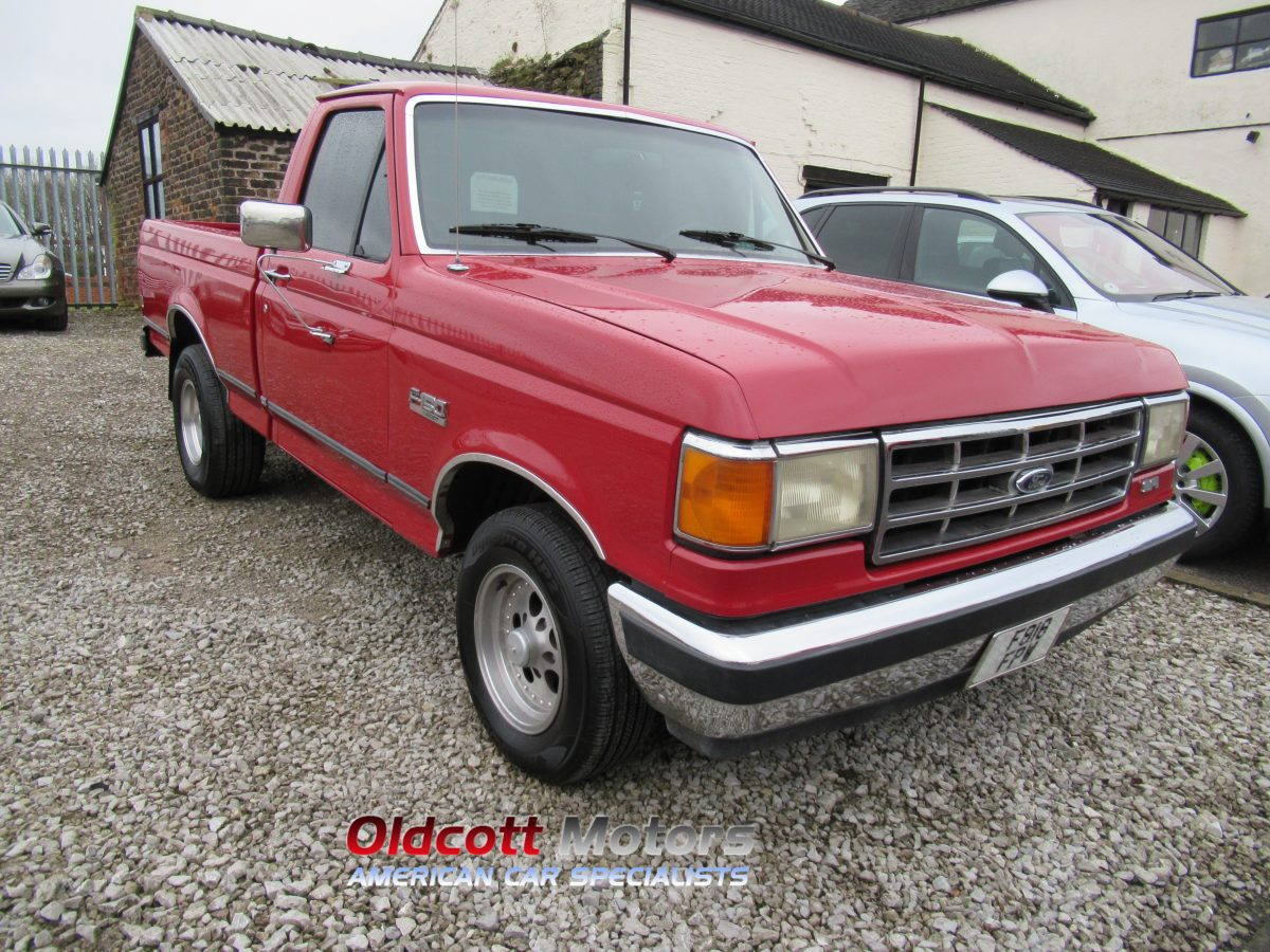 1988 FORD F150 5.0 LITRE AUTOMATIC SHORT BED REGULAR CAB