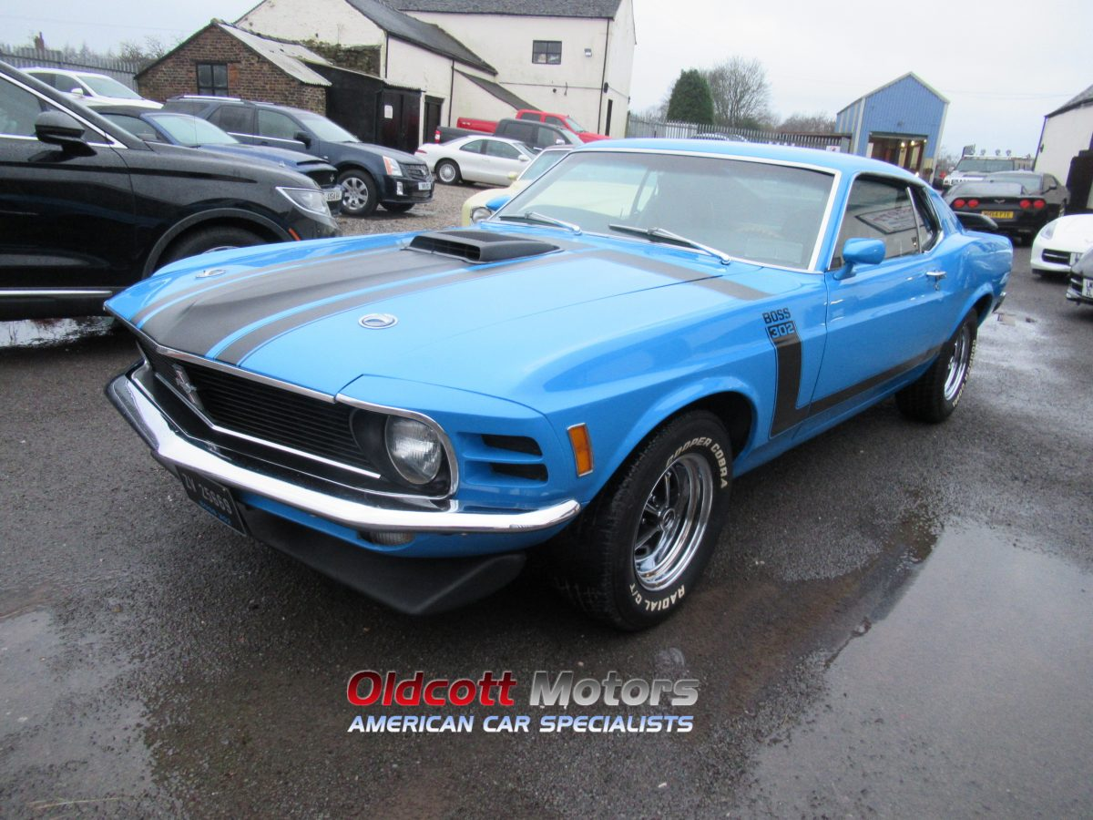 1970 FORD MUSTANG 351 5.8 LITRE AUTO