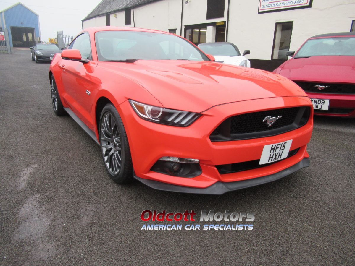 2015 FORD MUSTANG 5.0 LITRE GT left hand drive